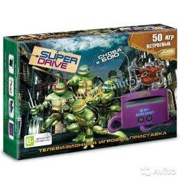 Ретро-консоли и электронные игры - Sega Super Drive Turtles (50-in-1), 0