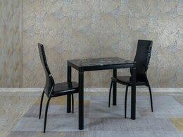 Столы и столики - Стол обеденный - черный 80*60, 0