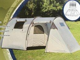 Аксессуары и комплектующие - Четырехместная палатка с тамбуром 470х255х160см., 0