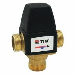 """Комплектующие для радиаторов и теплых полов - Термостатический клапан 1"""" для теплого пола TIM, 0"""