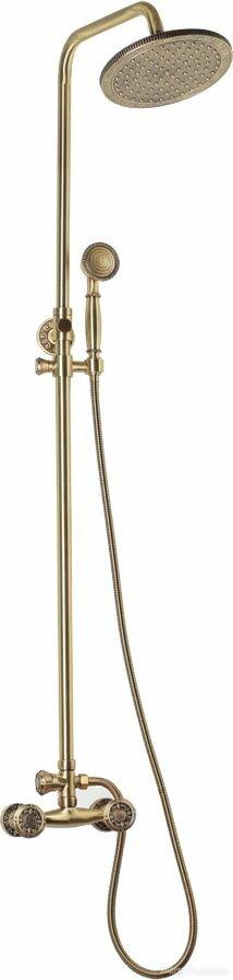 Душевая стойка Bronze de Luxe 10118R по цене 29051₽ - Души и душевые кабины, фото 0