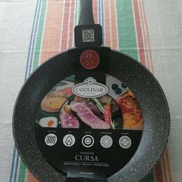 Сковороды и сотейники - Новая сковорода с антипригарным покрытием (гранит). Диаметр сковороды: 26 см, 0