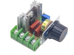 Электроустановочные изделия - Регулятор напряжения (Диммер) 220 В, 2000 Вт, 0