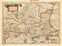 Гравюры, литографии, карты - 1589-1630 гг. Карта Восточных Балкан, Меркатор,…, 0
