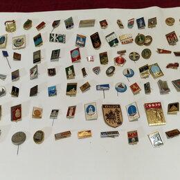 Жетоны, медали и значки - Продаю коллекцию значков - Города, 0