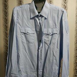 Военные вещи - Рубашка мвд голубая мужская, 0