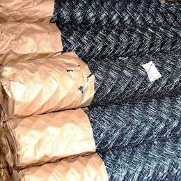 Заборчики, сетки и бордюрные ленты - Сетка рабица оцинкованная Обоянь, 0