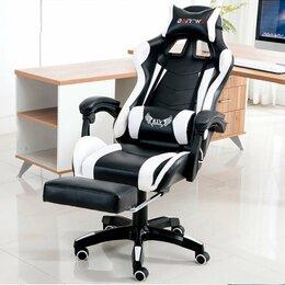 Компьютерные кресла - Геймерское кресло с вибро подушкой. Новое, 0