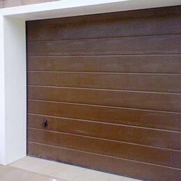 Заборы, ворота и элементы - Ворота секционные Дорхан 2900х2600, 0