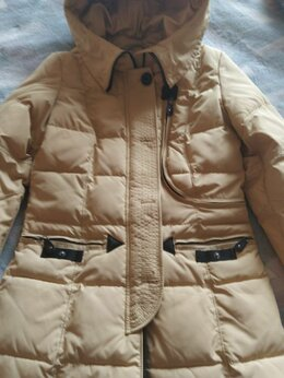 Пальто - Пальто зимнее женское с капюшоном и мехом (42-44), 0