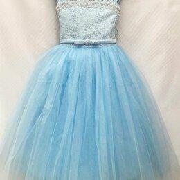 Платья и сарафаны - Нарядное платье на  6-7 лет, рост  116-125 см , 0
