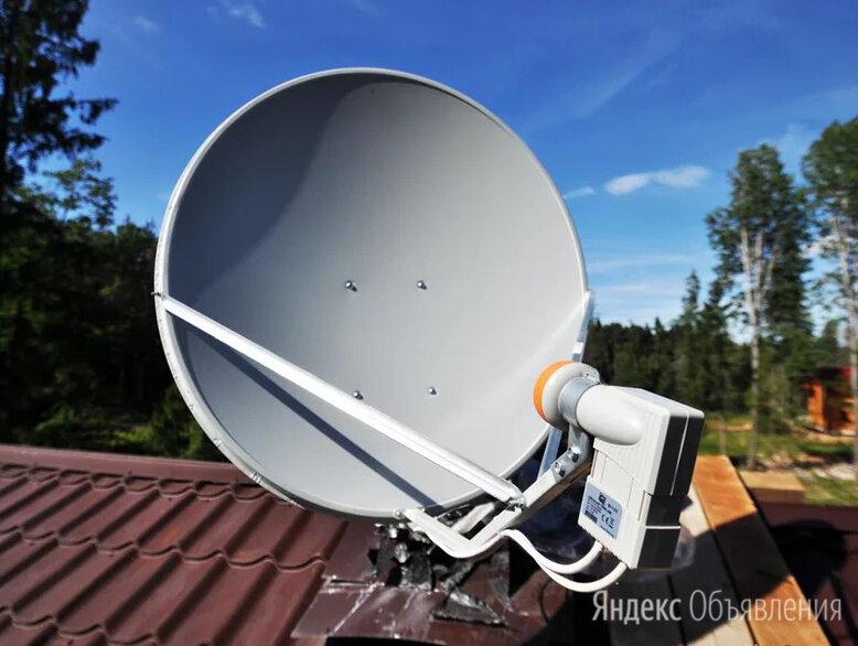 Установка спутниковых антенн Триколор, НТВ+, МТС по цене 500₽ - Спутниковое телевидение, фото 0