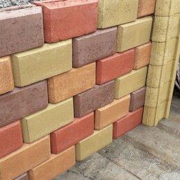 Строительные блоки - Блок керамзитобетонный столбовой для забора, забор, 0