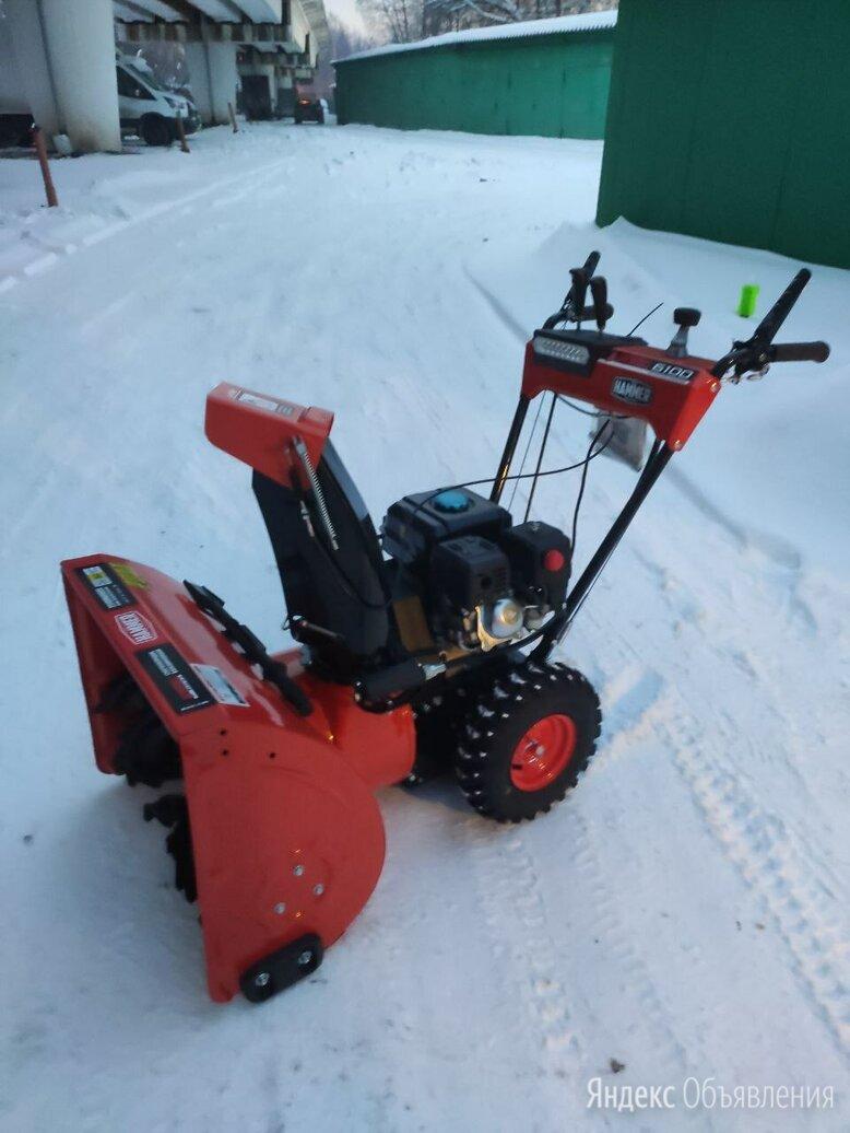 Снегоуборщик бензо Hammer Snowbull 6100 по цене 36900₽ - Снегоуборщики, фото 0