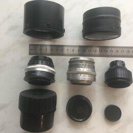 Пленочные фотоаппараты - Объектив, линза, 0