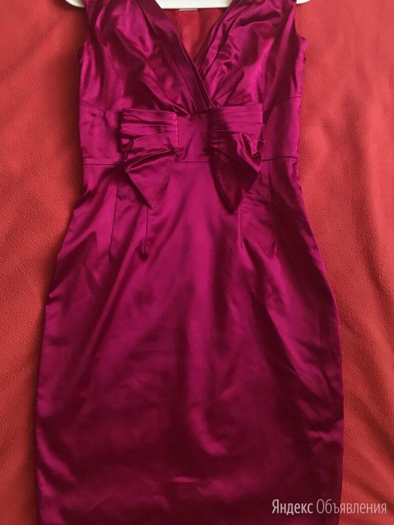 Розовое атласное платье миди Oasis 44-46 по цене 1800₽ - Платья, фото 0