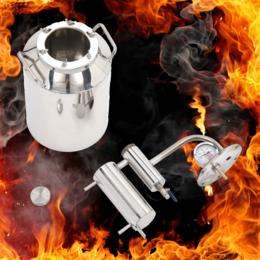 Самогонные аппараты - Дистиллятор с разборным сухопарником - Фаворит 8 л, 0