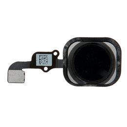 Шлейфы - Шлейф iPhone 6S / 6S Plus на кнопку HOME (черный), 0