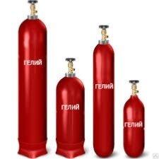 Газовые баллоны - Баллон с гелием 40 л , 0