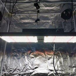 Аксессуары и средства для ухода за растениями - LED лампа для растений полного спектра 240W Seoul 3500k + Osram 660nm, 0