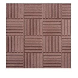 Тротуарная плитка, бордюр - Тротуарная плитка 300*300*30 паркет коричневый, 0