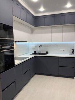 Мебель для кухни - Кухня без ручек до потолка, 0