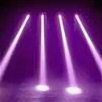 Световое и сценическое оборудование - световой эффект 4 головы, 0