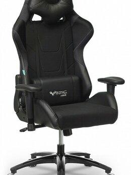 Компьютерные кресла - Кресло игровое VIKING 4 AERO BLACK EDITION, 0