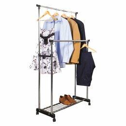 Мебель для учреждений - Вешалка напольная для одежды двойная, 0