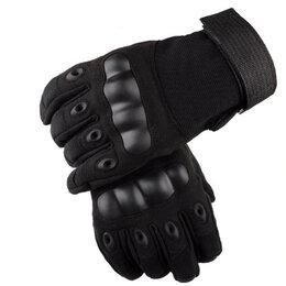 Перчатки и варежки - Перчатки тактические OKLAI черные, 0