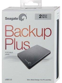 Внешние жесткие диски и SSD - Внешний HDD Seagate 2тб USB 3.0, 0