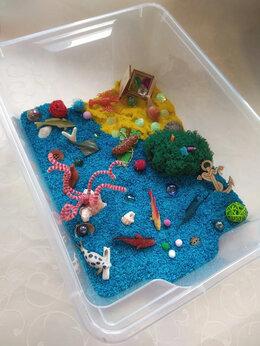 Настольные игры - Сенсорная коробка Морская, 0