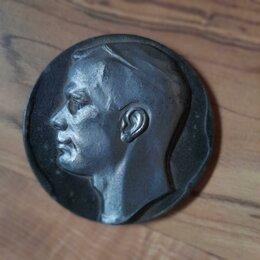 """Жетоны, медали и значки - Медаль настольная """"Гагарин"""" олово 1961, 0"""
