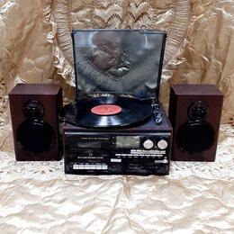 Проигрыватели виниловых дисков - Проигрыватель  TR-18CD-BT, 0