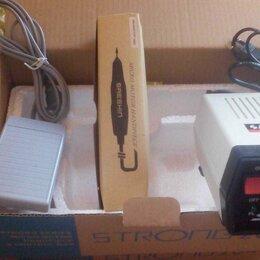 Аппараты для маникюра и педикюра - Аппарат для маникюра, фрезер STRONG204 Новый, 0