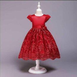 Платья и сарафаны - Праздничное платье с пышной юбкой (новое), 0
