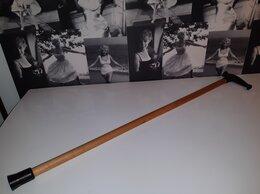 Зонты и трости - Трость деревянная с пластиковой рукоятью и…, 0