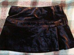Юбки - Мини юбка бархатная размер 38, 0