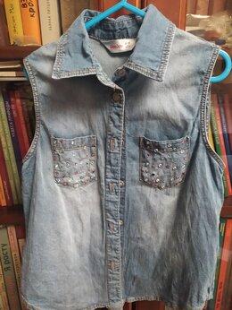 Рубашки и блузы - Джинсовая рубашка, 0