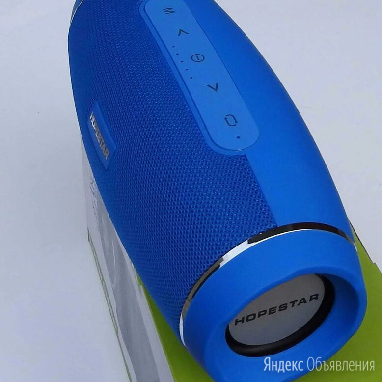Hopestar H27 Беспроводная портативная колонка по цене 1500₽ - Портативная акустика, фото 0