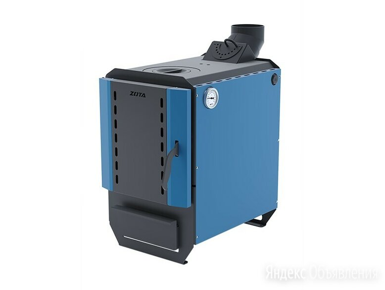 Котел  твердотопливный ZOTA Box-8, 8 кВт, 26 л по цене 30990₽ - Отопительные котлы, фото 0