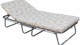 Раскладушки - Раскладная кровать с подголовником Массандра, 0