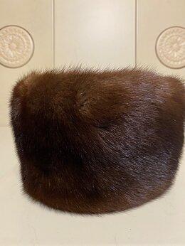 Головные уборы - норковая шапка женская , 0