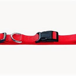 Ошейники  - HUNTER SMART ошейник для собак ECCO XS (22-34 см) нейлон красный , 0