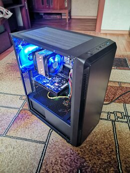 Настольные компьютеры - Новый игровой ПК, 8 ядер, 12 гб, HD 5850, 0