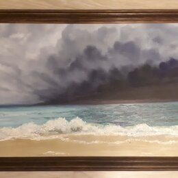 """Картины, постеры, гобелены, панно - Картина маслом """"Карибский шторм"""", 0"""