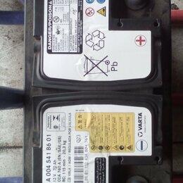 Аккумуляторы и комплектующие - аккумулятор оригинал бмв мерседес бу агм, 0