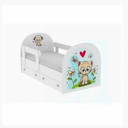 """Кровати - Кровать детская односпальная """"Котёнок"""", 0"""