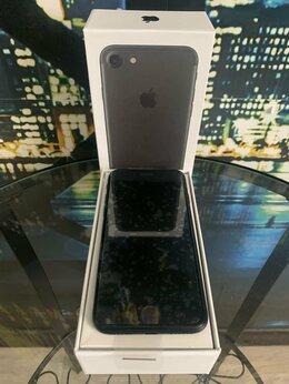 Мобильные телефоны - IPhone 7 128GB black. Новый запечатанный в пленках, 0