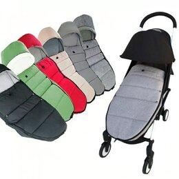 Аксессуары для колясок и автокресел - Новый огромный кокон #4 для коляски (серый меланж), 0